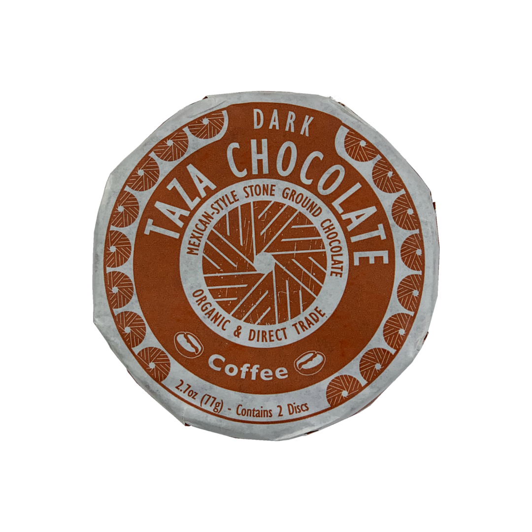 TAZA Chocolate Coffee 55% hořká čokoláda 77 g