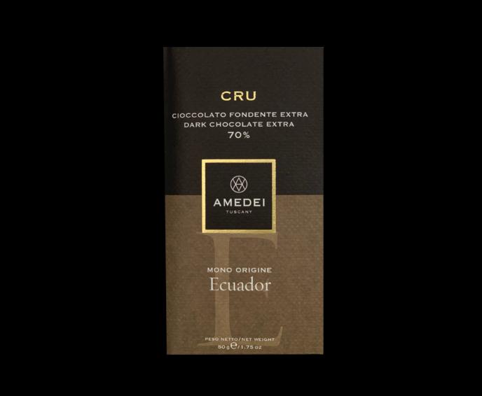 Amedei I Cru Ekvádor 70% hořká čokoláda 50 g