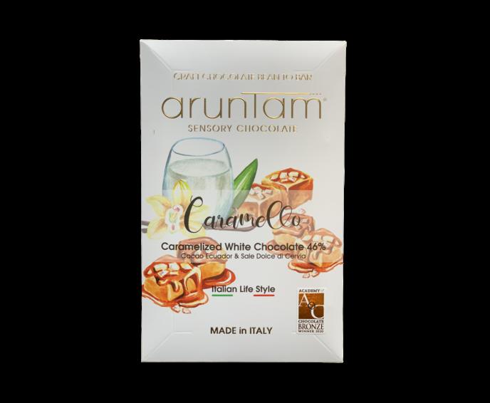 Aruntam 46% bílá čokoláda Caramello 50 g