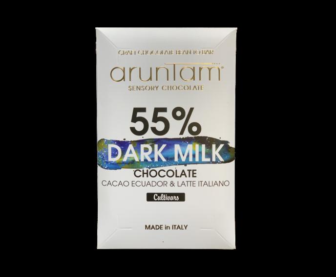 Aruntam 55% mléčná čokoláda Dark Milk 50 g