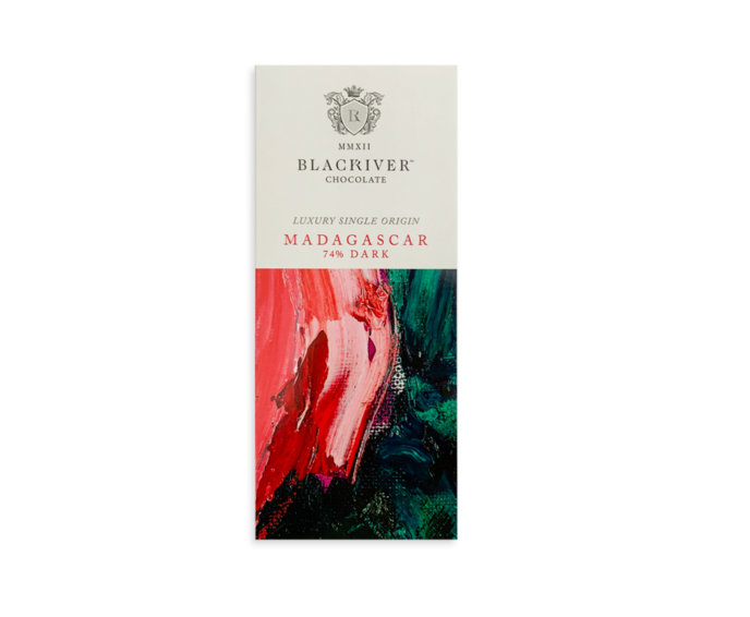 Black River Chocolate 74% hořká čokoláda Madagaskar 100g