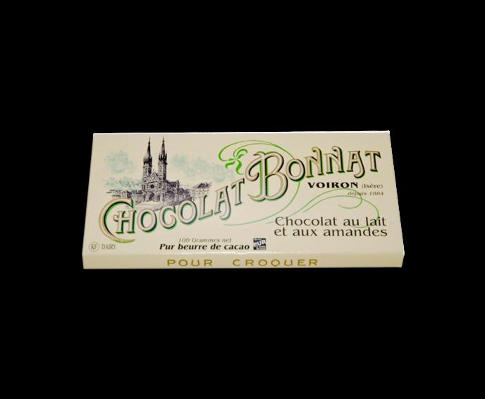 Bonnat Lait aux Amandes 55% mléčná čokoláda 100 g