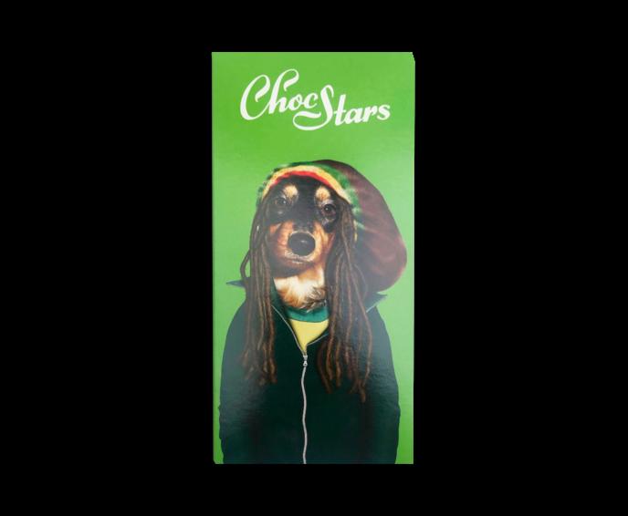 ChocStars Reggae 50% hořká čokoláda 100 g