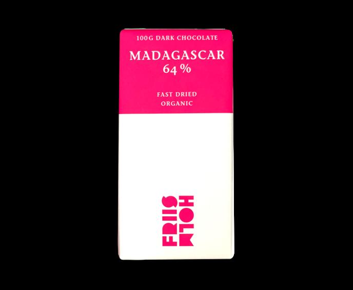 FRIIS-HOLM EXP MADAGASCAR fast dried 64% hořká čokoláda 100 g