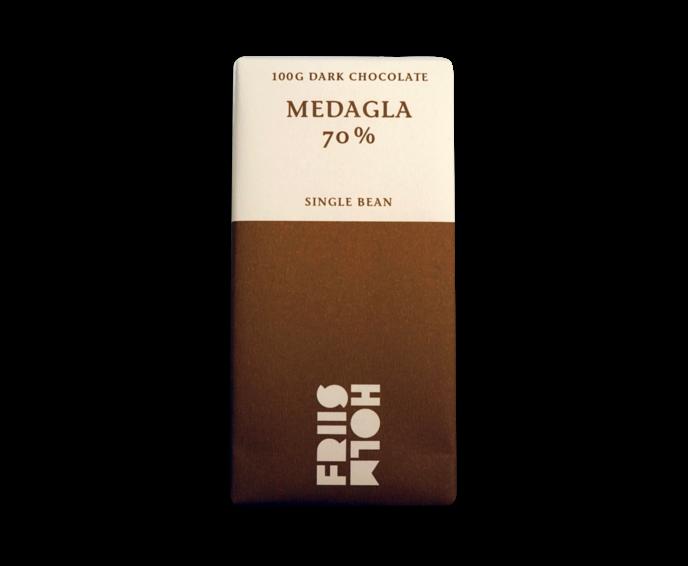 FRIIS-HOLM MEDAGLA 70% hořká čokoláda Nicaragua 100 g
