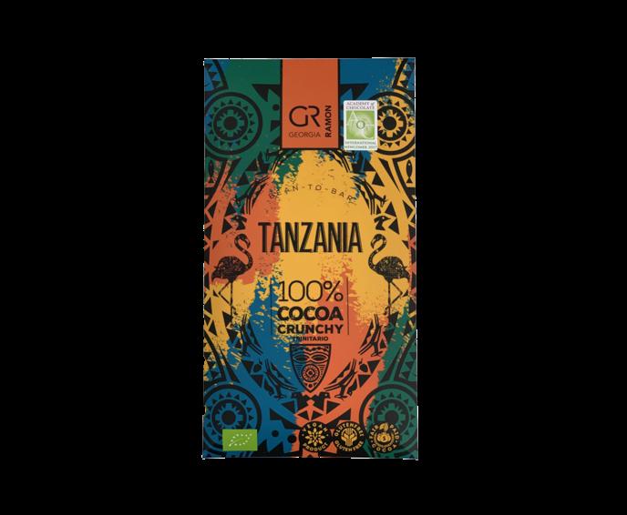 GR 100% hořká čokoláda Tanzania s praženými boby BIO 50 g