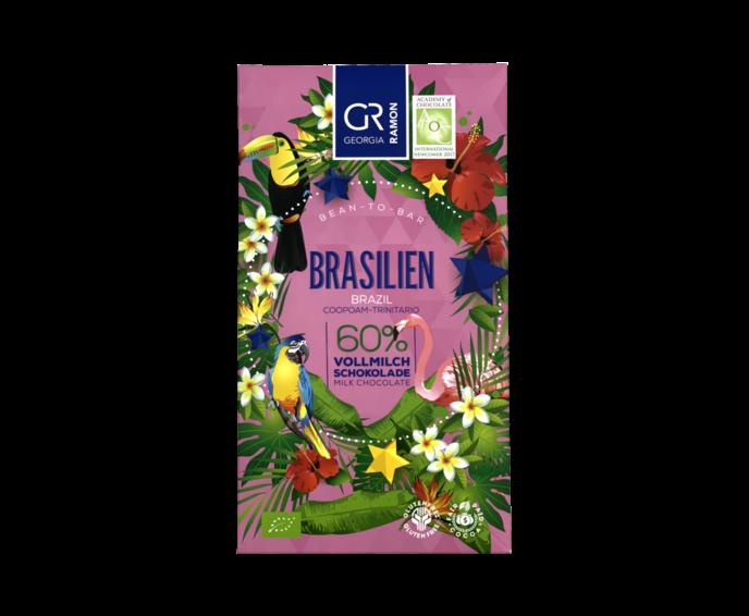 GR 60% mléčná čokoláda - Brazílie BIO 50 g