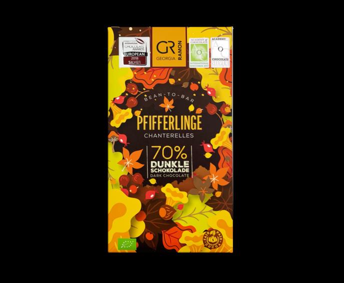 GR 70% hořká čokoláda - lišky BIO 50 g