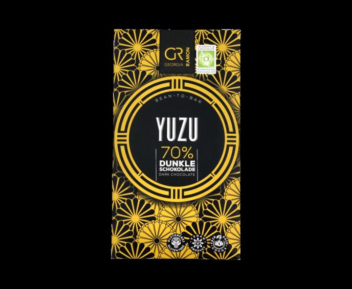 GR 70% hořká čokoláda - Yuzu 50 g