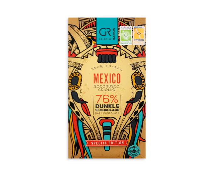 GR 76% hořká čokoláda - Mexico 50 g