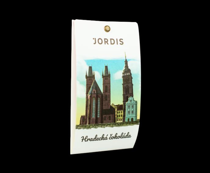 Jordi's Hradecká tmavá čokoláda 50 g