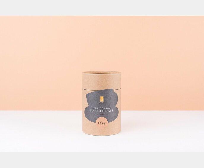 LYRA SAO THOME 70% horká čokoláda 250 g