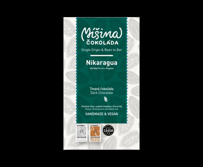 Míšina čokoláda 70% hořká čokoláda - Nikaragua Rugoso 50g