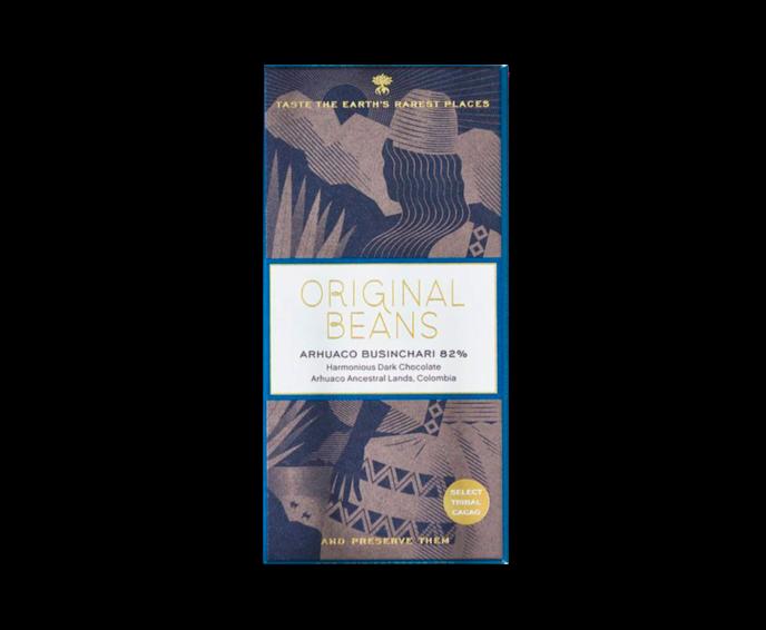 Original Beans EXP Arhuaco Businchari 82% hořká čokoláda 70 g