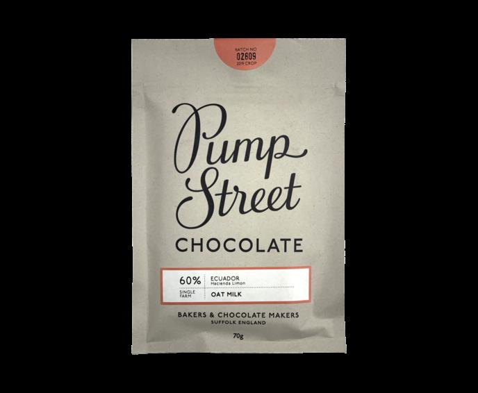 Pump Street 60% hořká čokoláda Oat Milk 70 g