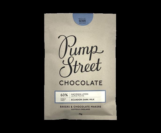 Pump Street 60% mléčná čokoláda Ekvádor Dark Milk 70 g