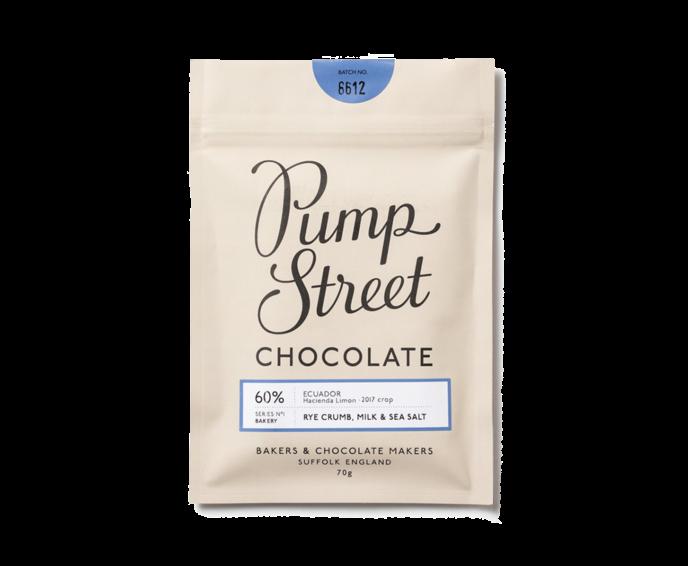 Pump Street 60% mléčná čokoláda se strouhankou a solí 70 g
