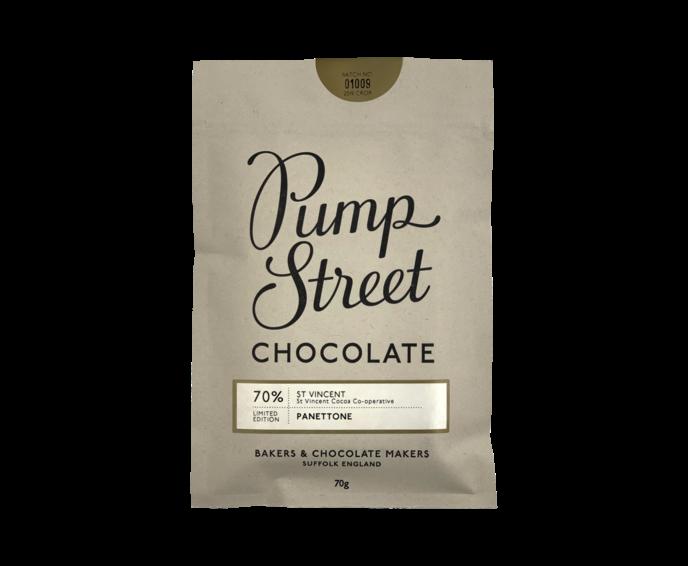 Pump Street 70% hořká čokoláda Panettone 70 g