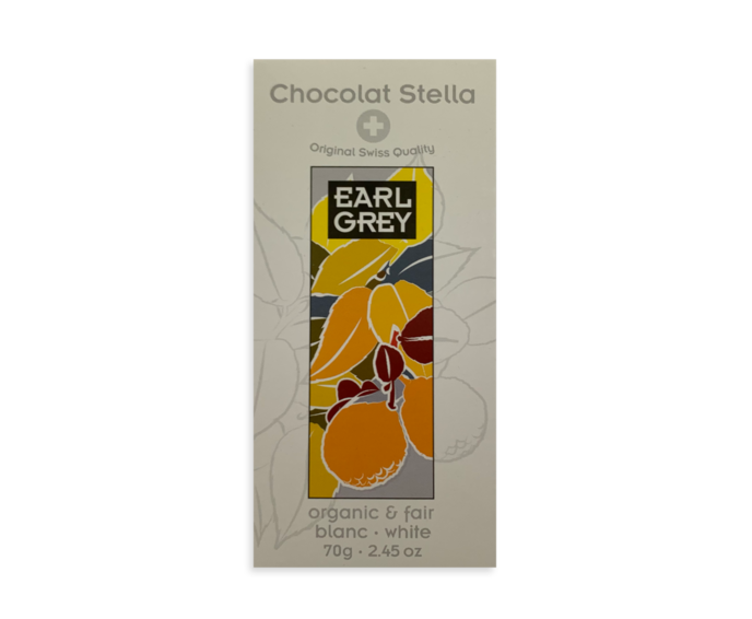Stella 33% bílá čokoláda Earl Grey Bio 70g