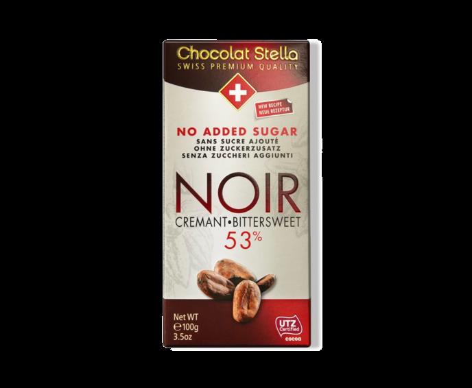 Stella 53% hořkomléčná čokoláda bez přid. cukru - Cremant 100 g