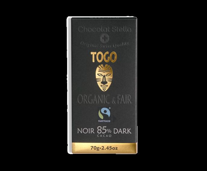 Stella 85% hořká čokoláda - Togo BIO 70 g