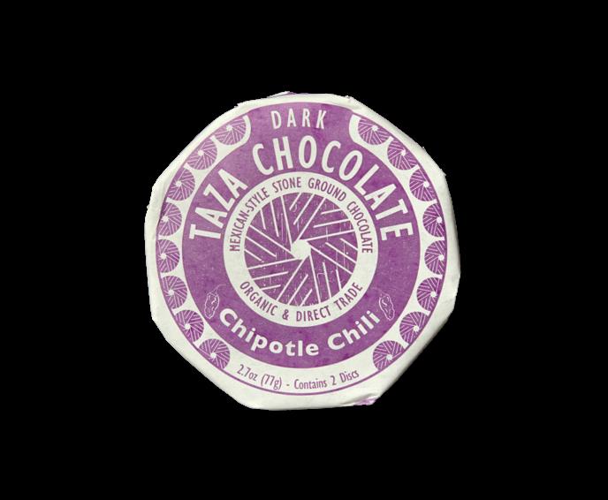 TAZA Chocolate 50% hořká čokoláda Chipotle Chili 77 g