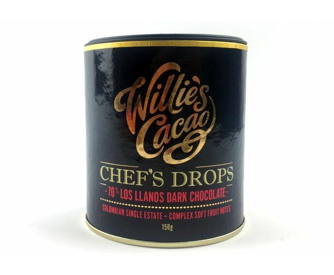 Willie's Cacao čokoládové čočky Los Llanos 70% 150 g