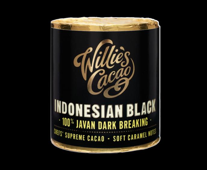Willie's Cacao Indonesian Black, 100% Javan Dark Breaking čokoládový váleček 180 g