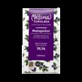 Míšina čokoláda 58,5% mléčná čokoláda s borůvkami - Madagaskar 50 g