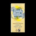 Seed and Bean 30% bílá čokoláda citrón mák BIO 85 g
