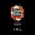 Seed and Bean 58% hořká čokoláda káva Espresso BIO 85 g