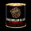Willie's Cacao Venezuelan Black, 100% Carenero čokoládový váleček 180 g