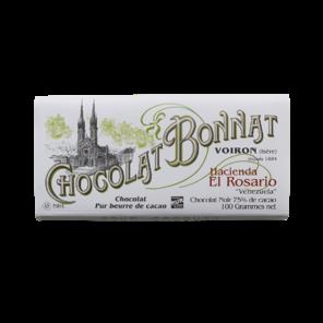 Bonnat 75% hořká čokoláda Hacienda El Rosario Venezuela 100 g