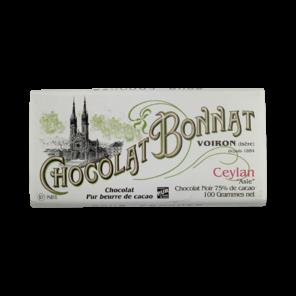 Bonnat Cejlon 75% hořká čokoláda 100 g