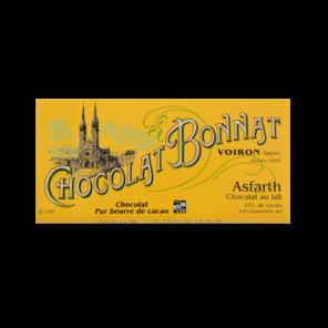 Bonnat Lait Grands Crus Asfarth 65% mléčná čokoláda 100 g