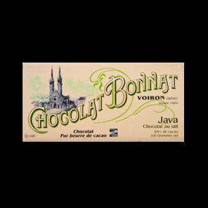 Bonnat Lait Grands Crus Java 65% mléčná čokoláda 100 g