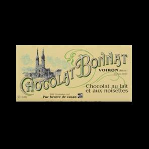 Bonnat Tradition Lait Noisettes 55% mléčná čokoláda 100 g