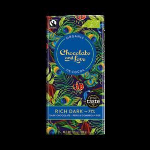 CH&L EXP Rich Dark 71% hořká čokoláda Bio 80 g