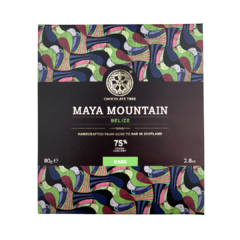 Chocolate Tree Belize Maya Mountain 75%, hořká čokoláda 80g