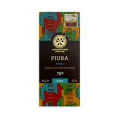 Chocolate Tree MINI Peru Piura Chililique 70%, hořká čokoláda 40g