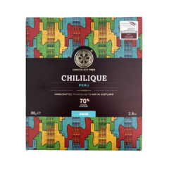 Chocolate Tree Peru Chililique 70%, hořká čokoláda Bio 80g