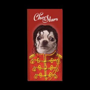 ChocStars Pop 50% hořká čokoláda 100 g