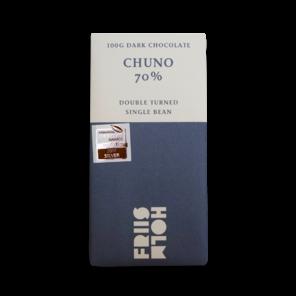 FRIIS-HOLM CHUNO DOUBLE TURNED 70% hořká čokoláda 100 g