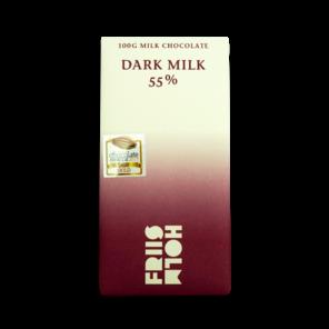 FRIIS-HOLM DARK MILK 55% mléčná čokoláda 100 g