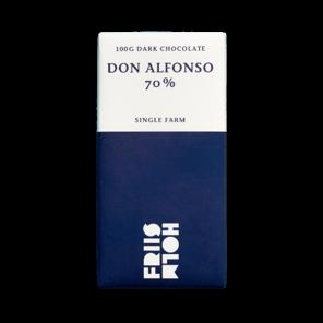 FRIIS-HOLM DON ALFONSO 70% hořká čokoláda Nicaragua 100g