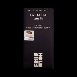 FRIIS-HOLM LA DALIA 100% hořká čokoláda Nicaragua 80 g