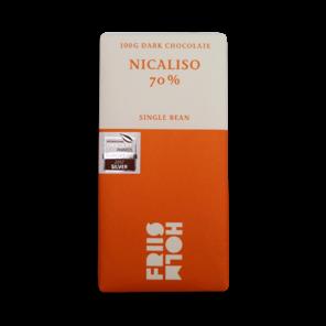 FRIIS-HOLM NICALISO 70% hořká čokoláda Nicaragua 100 g