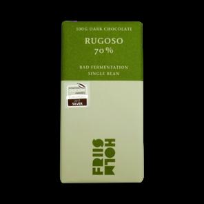 FRIIS-HOLM RUGOSO 70% hořká čokoláda, Bad fermentation 100 g