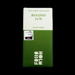 FRIIS-HOLM RUGOSO 70% hořká čokoláda Nicaragua 100 g