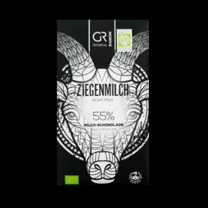 GR 55% mléčná čokoláda kozí mléko BIO 50 g